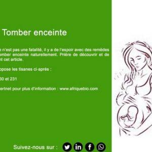Infertilité féminine. Recettes pour vite tomber enceinte